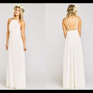 Show Me Your MuMu White Amanda Dress